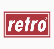 Retro - Red Kids Clothes