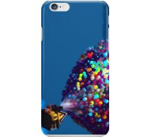 Up Balloon House Print iPhone Case/Skin