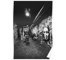 Seattle, Post Alley murals Poster