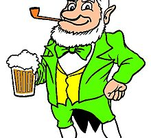 Leprechaun With Beer by kwg2200