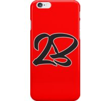 23 Graffiti iPhone Case/Skin