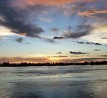 Chobe National Park Sunset by noni3484