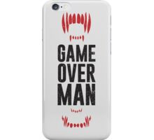 Game Over Man - Alternate iPhone Case/Skin