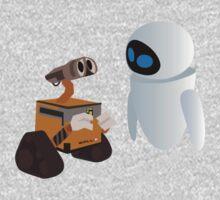 Wall-E & Eva by RiskGambits