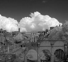 Roman Forum IR by Troy Dodds