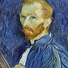 Self Portrait of Vincent Van Gogh by Vintage Works