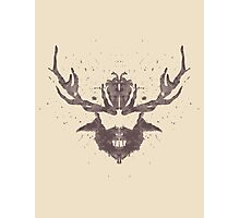 Hannibal Rorschach Test Photographic Print