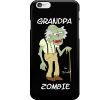 Grandpa Zombie iPhone Case/Skin