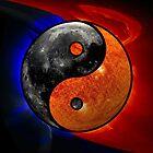 Sun & Moon as Yin/Yang by Dave Martin