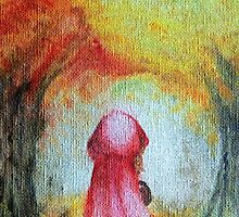 little red riding hood by lisanathalie