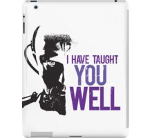 Yuri - I have taught you well iPad Case/Skin