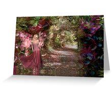 The Secret Garden - Rose & Cathleen Tarawhiti Greeting Card