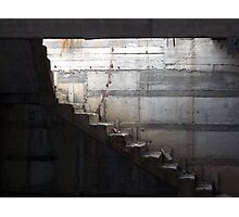 Step into the light Photographic Print
