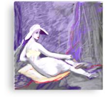Breastless Ode to Ingres Canvas Print