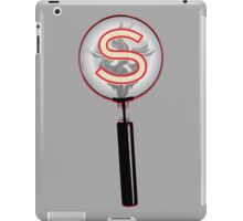 Serial Magnifying Glass iPad Case/Skin