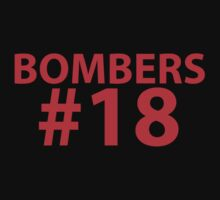 BOMBERS Supporter Shirt - Football, Soccer, Hockey, Basketball, etc by troyw