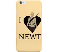 I Love Newt iPhone Case/Skin