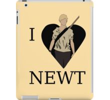 I Love Newt iPad Case/Skin