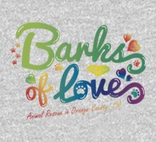 Clothing - Barks of Love (Colors on White) Kids Clothes