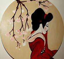 Geisha Girls by Rusty  Gladdish