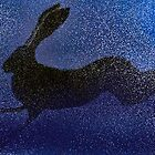 Running Hare by thebirchtree