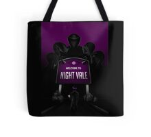 Welcome to Night Vale x Silent Hill Mash Up  Tote Bag