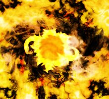 Sunflowers in a blender! by Darman