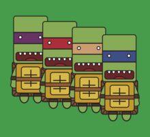 Teenage Mutant Ninja Turtles! by Andrew Han