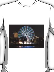 Melbourne at night - The Wheel T-Shirt