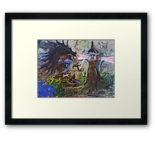 Light Keeper Framed Print