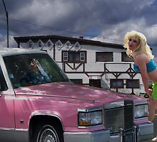 Pink Caddy by Dan Perez