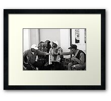 pass the smoke Framed Print