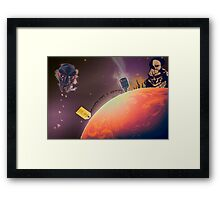 MF DOOM - Planet DOOM Framed Print