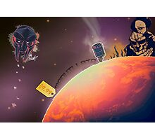 MF DOOM - Planet DOOM Photographic Print