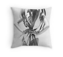 Paula in Hawaii Throw Pillow
