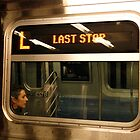 SUBWAY 1136/  Lonely Ride II by Mart Delvalle