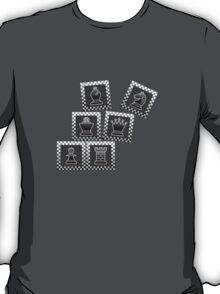 Chess - Black borders toppling T-Shirt