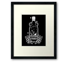 FLOAT OR DROWN CREST PRINT Framed Print
