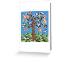 'Birdie Tree' - Inspired by Spring Greeting Card