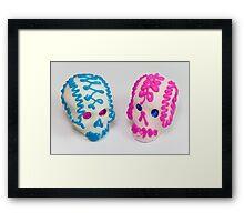 calaveritas mexicanas Framed Print