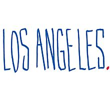 Los Angeles - City Scroll Photographic Print