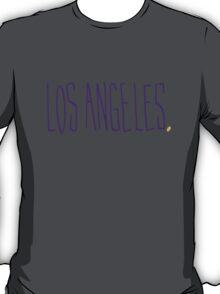 Los Angeles LAL - City Scroll T-Shirt