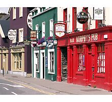 Irish Pubs Photographic Print