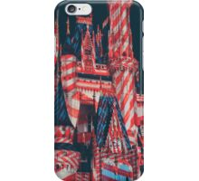 candy cane cinderella castle. iPhone Case/Skin