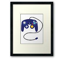 GameCube Controller Framed Print