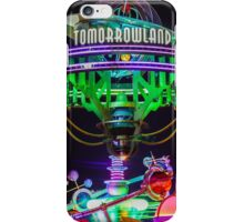 tomorrowland at night.  iPhone Case/Skin