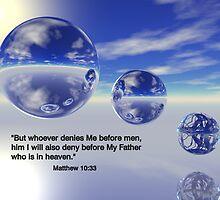 Matthew 10:33 by Dave Moilanen