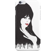 Elvira (Halftones) iPhone Case/Skin