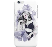 Midnight Orchid iPhone Case/Skin