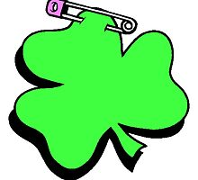 Shamrock With Pin by kwg2200